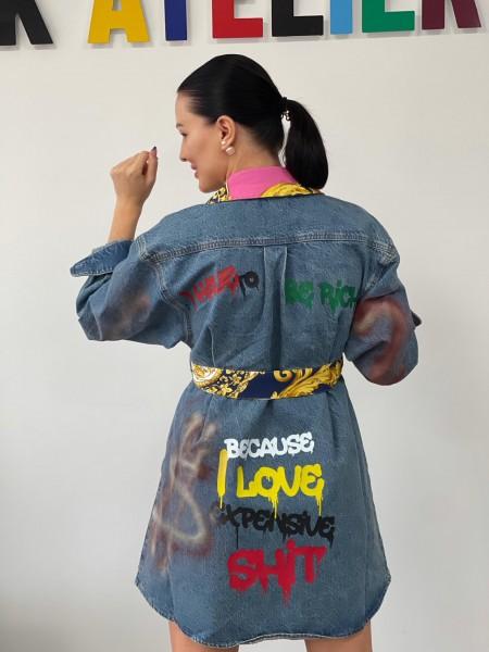 Rifľové šaty RICH DRESS