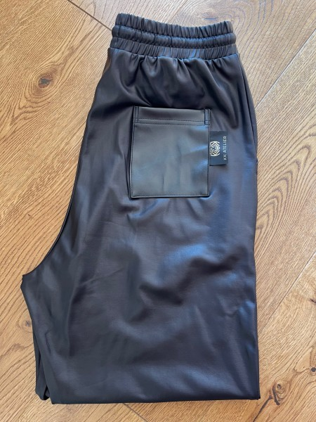 Koženkové nohavice LESSISMORE